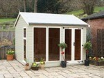 The Hilton Summerhouse 16x8 Free Delivery Ready Built