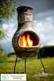 Miami Leaf Medium Chimenea