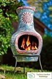 Polo Small Clay Chimenea