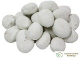 White Ceramic Pebbles