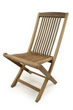 The Bates Teak Folding Chair