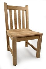 The Bethan Teak Side Chair