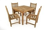 The Bethan Teak Table Set