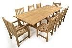 The St David Teak Table Set