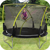 8ft Whirlwind Trampoline & 3G Enclosure