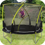 10ft Whirlwind Trampoline & 3G Enclosure