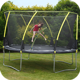 14ft Whirlwind Trampoline & 3G Enclosure