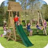 Indri Wooden Climbing Frame