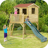 Wooden Adventure Playhouse