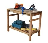 Forest Shed Work Bench