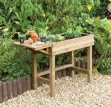 Forest Trough Table Planter