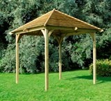 Forest Venetian Pavilion Without Decking