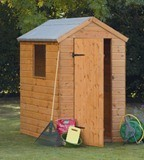 Forest Economy 6x4 Shiplap Apex Shed
