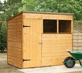 Forest Economy 7x5 Shiplap Pent Shed