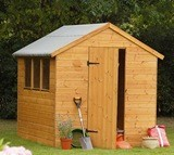 Forest Economy 8x6 Shiplap Apex Shed