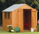 Forest Economy 7x7 Shiplap Apex Shed