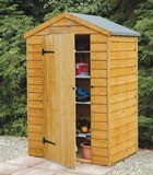 Forest Economy 4x3 Overlap Apex Shed