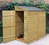 Forest Economy 6x3 Overlap Wall Shed
