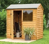 Forest Economy 6x4 Overlap Reverse Apex Shed