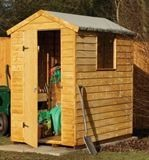 Forest Economy 6x4 Premium Overlap Apex Shed