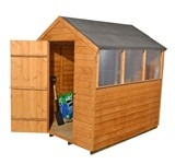 Forest Economy 5x7 Overlap Apex Shed