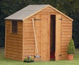 Forest Economy 7x5 Premium Overlap Shed