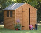 Forest Economy 8x6 Premium Overlap Shed