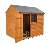 Forest Economy 8x6 Overlap Reverse Apex Shed