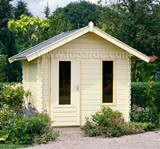Lugarde Cornwall Log Cabin 2.4m x 2.4m including Floor