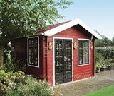 Lugarde Wales Log Cabin 3m x 3m - including Floor
