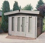 Lugarde York Log Cabin 3.6m x 3.6m - including Floor