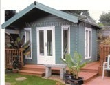 Lugarde Nebraska Log Cabin 4m x 3.5m - including Floor