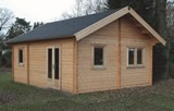 Lugarde Hamburg Log Cabin 5m x 6m