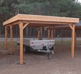Lugarde Flat Roof Carport 3.5m x 5.5m