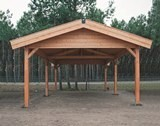 Lugarde Apex Roof Carport 4m x 6m