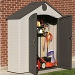 Lifetime Plastic Shed 8x2.5