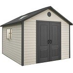 Lifetime Heavy Duty Plastic Shed 11x13.5