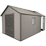 Lifetime Heavy Duty Plastic Shed 11x16