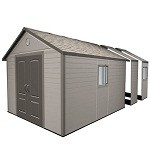 Lifetime Heavy Duty Plastic Shed 11x18.5