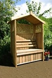Dorest Arbour with Storage Box
