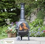 Aspen Extra Large with Grill Chimenea