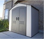 Lifetime Plastic Shed 7x4.5