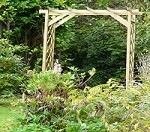 Solid Straight Rose Pergola