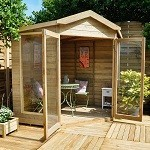The Blockley Summerhouse 7x7