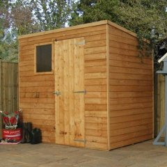 Mercia Overlap Pent Shed