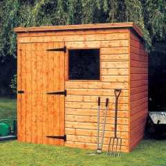Malvern Bewdely Pent Shed