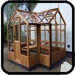 Cygnet Greenhouse with porch