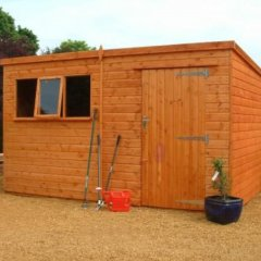 Heavy Duty Pent Shed Range
