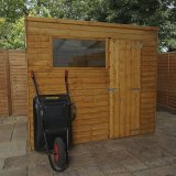 The Overlap Pent Shed 8x6