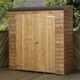 Mercia Pent Overlap Store Shed 5'10x2'9